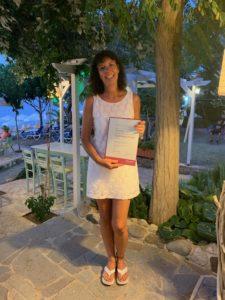 Transformationstherapeutin Sonja Kaminski mit Zertifikat
